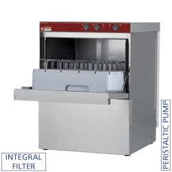 Lave vaisselle de bar - Panier 45x45 pour vaisselle et verres