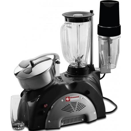 Combiné presse agrumes mixer 1,5 litres et milk-shake | G14/B - Diamond