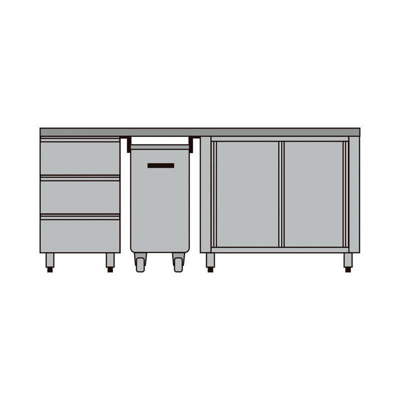 meuble compos pour boulangerie p tisserie diamond mcp comp 2. Black Bedroom Furniture Sets. Home Design Ideas