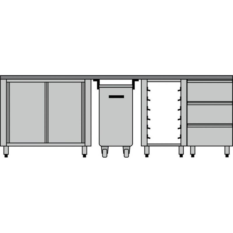 meuble compos pour boulangerie p tisserie diamond mcp comp 3. Black Bedroom Furniture Sets. Home Design Ideas