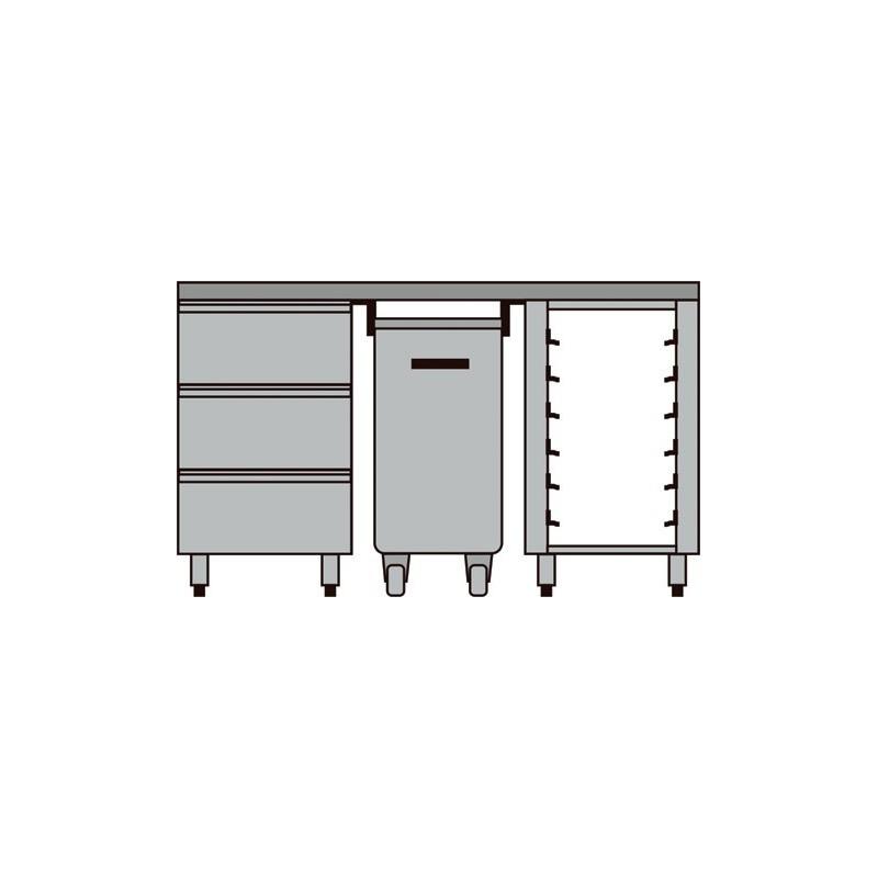 meuble compos pour boulangerie p tisserie diamond mcp comp 1. Black Bedroom Furniture Sets. Home Design Ideas