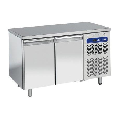 Table frigorifique 2 portes avec top en granit | TP2N/L/LG - Diamond