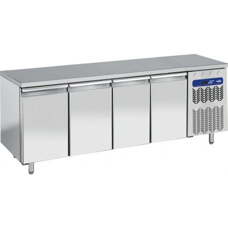 Table de congélation 4 portes + top en granit | TP4B/L/LG - Diamond