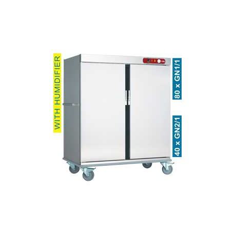 Chariot de maintien en température 40 x GN 2/1 | CCE40 - Diamond