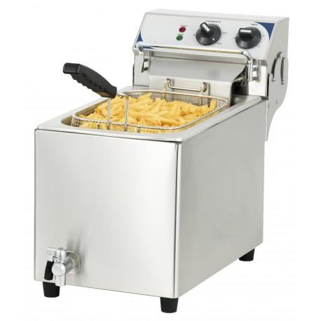 Friteuse électrique 10 litres haut rendement | CFEV10TB - Casselin