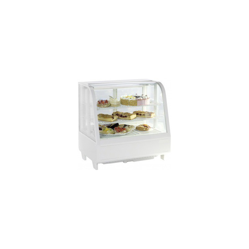 vitrine r frig r e poser 100 litres blanche. Black Bedroom Furniture Sets. Home Design Ideas