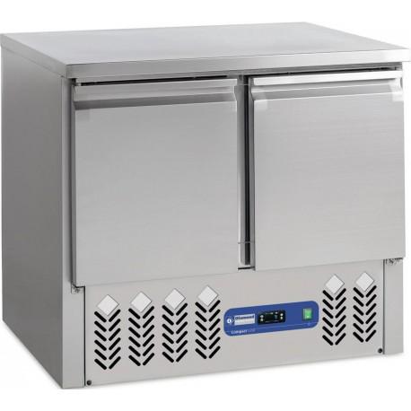 Desserte Réfrigérée de 240 Litres avec 2 Portes - Diamond SA2/GD | SA2/R6 - Diamond