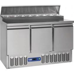 Desserte frigorifique 3 portes + Structure réfrigérée