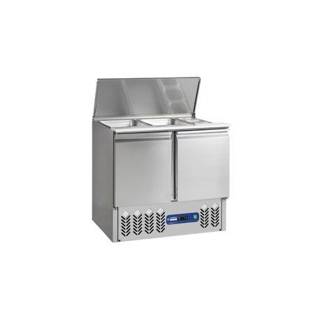 Saladette Frigorifique de 240 Litres avec 2 Portes - Diamond SAL2M/D | SAL2M/R6 - Diamond