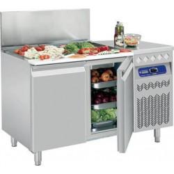 Table frigorifique 2 portes 260 litres