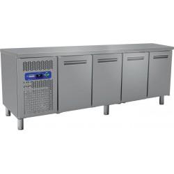 Table frigorifique 4 portes 225 cm