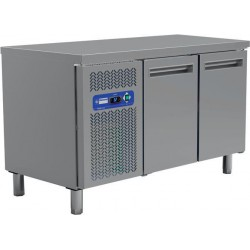 Table frigorifique 2 portes 135 cm