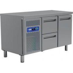 Table frigorifique 1 porte et 2 tiroirs 135 cm
