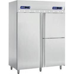 Armoire frigorifique 3 portes avec compartiment poisson