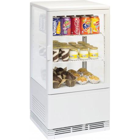 Vitrine réfrigérée à poser 58 litres | CVR58LB