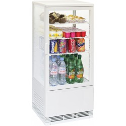 Vitrine réfrigérée à poser 78 litres