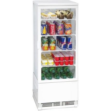 Vitrine réfrigérée à poser 98 litres | CVR98LB