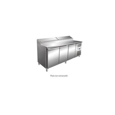 Table à sandwiches réfrigérée 3 portes | SH37