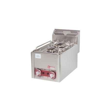 2 feux gaz à poser 600 mm   GS6/2FT-N - Diamond