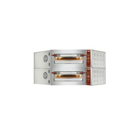 Four à pizza électrique  d'angle 2 niveaux | CGD/2-DP - Diamond