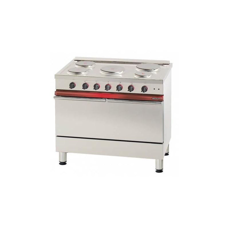 Fourneau professionnel lectrique ambassade ce1051b for Materiel de cuisson professionnel