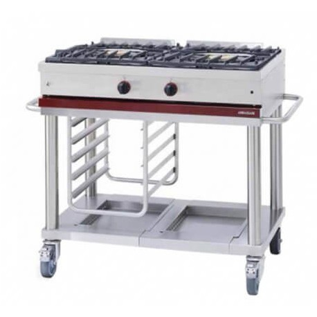 Table de cuisson mobile GAZ Ambassade CTG1020 | CTG1020 - Ambassade De Bourgogne