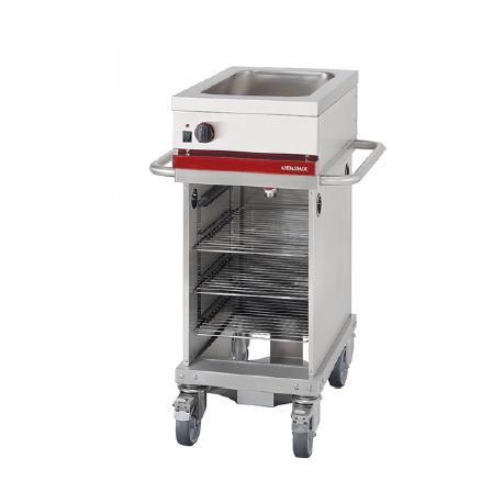 Module mobile de cuisson électrique CTE410M | CTE410M - Ambassade De Bourgogne