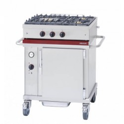 Module mobile sur FOUR + TABLE de cuisson gaz CTG731CT
