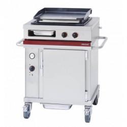 Module mobile de cuisson sur FOUR + PLANCHA gaz Ambassade CTG721PL-CT