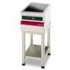 Table électrique vitrocéramique et foyer induction Ambassade CSE410IX