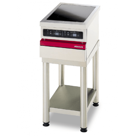 Table électrique vitrocéramique - 2 foyers induction AmbassadeCSE423IX   CSE423IX - Ambassade De Bourgogne