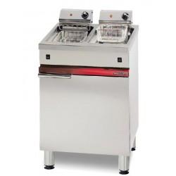 Friteuse électrique 2 x 6 litres litres Ambassade CME625FR