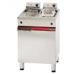 Friteuse électrique 2 x 6 litres litres Ambassade CME626FRI