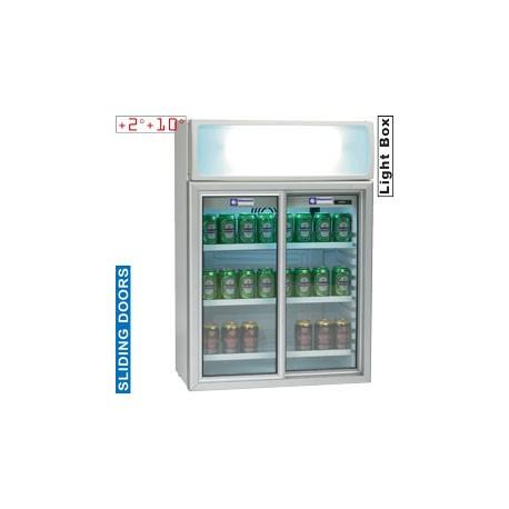 Armoire portes vitrées 100 litres | TOP11/R6 - Diamond