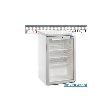 Armoire réfrigérée 110 litres portes vitrée | TOP200/R6 - Diamond