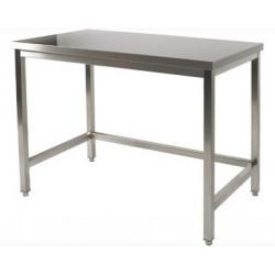 Table de préparation inox 60x60