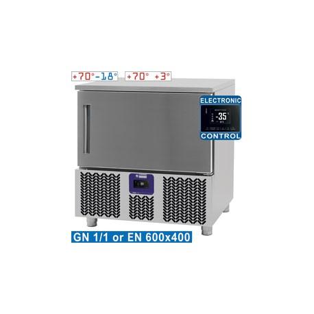 Cellule de congélation et refroidissement 5 niveaux | GTP-5/LD - Diamond