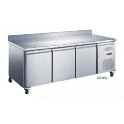 Table réfrigérée 3 portes adossée