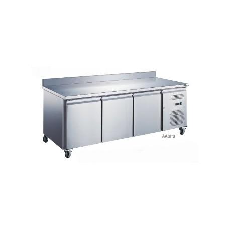 Table réfrigérée 3 portes adossée   AA3PD - Collin Lucy