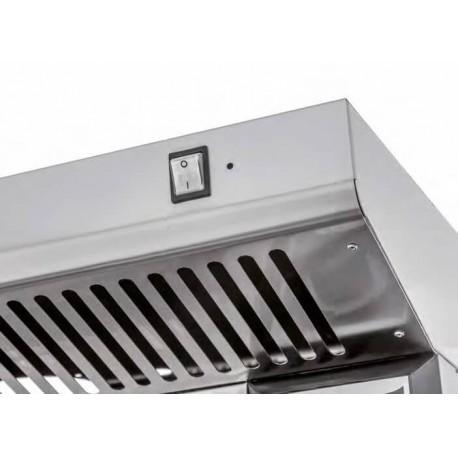 Hotte INOX KB 4-44 - PRISMAFOOD | KB-4-44 - Prismafood Solutions