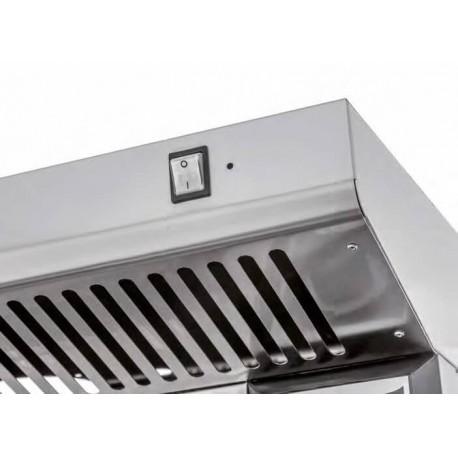 Hotte INOX KXL 2L 22L - PRISMAFOOD | KXL-2L-22L - Prismafood Solutions