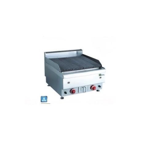 Grill gaz à pierres de lave double | JUSTRH60