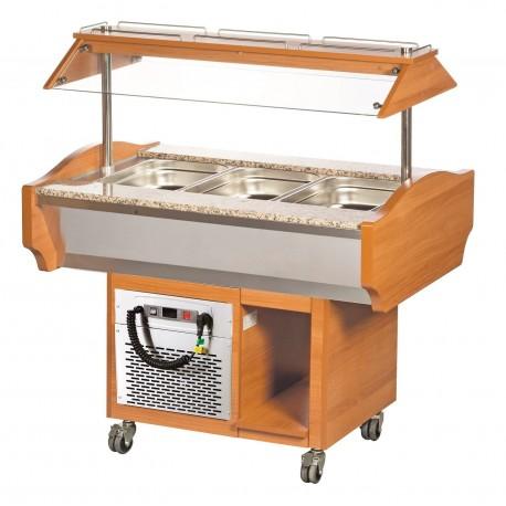 Buffet réfrigéré 3xGN1/1 | BRC0003