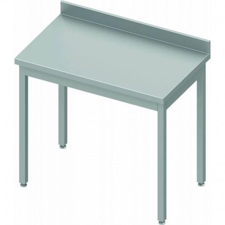 Table inox adossée P600mm | 930016100 - Stalgast