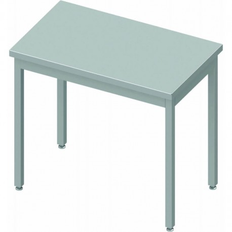 Table inox centrale profondeur 600 mm | 932546040 - Stalgast
