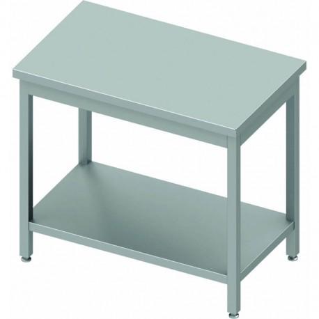 Table inox centrale profondeur 700 mm   930107100 - Stalgast