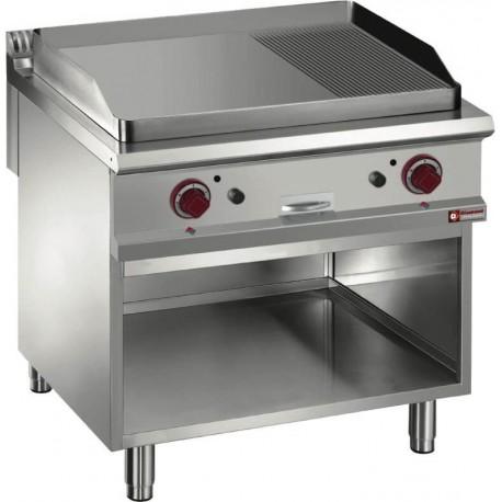Plaque de cuisson gaz lisse et nervurée G9/PMA8 | G9/PMA8 - Diamond