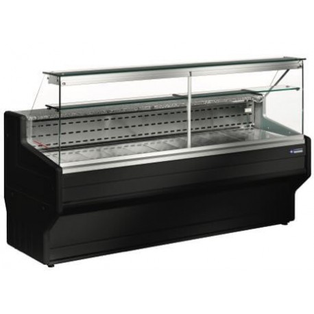 Vitrine réfrigérée noire de 1m50   R015/B5-R2 - Diamond