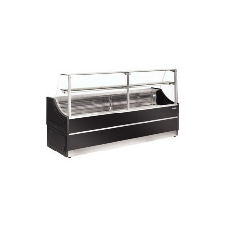 vitrine réfrigérée noire 1m50 OL150-B5-R2 | OL150/B5-R2 - Diamond