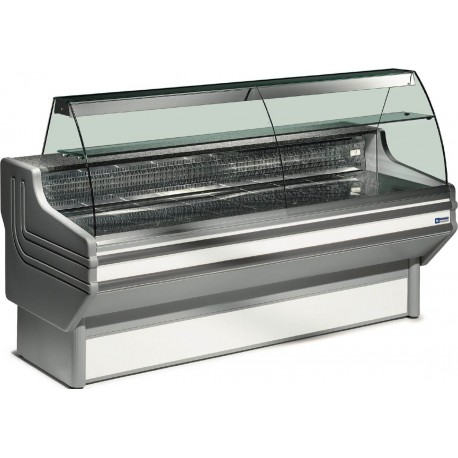 vitrine réfrigérée vitre bombées froid ventilé 2 m | JY20/A1-R2-VV/R2 - Diamond